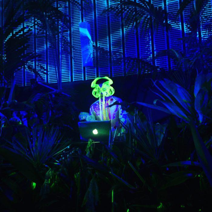 Bjork's DJ @ Bjork Digital オープニングパーティー 日本科学未来館 (Miraikan)