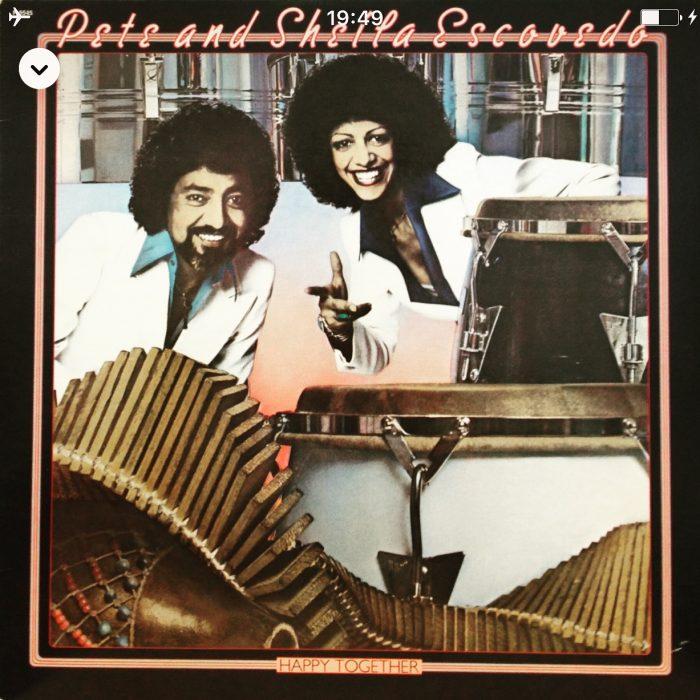 Pete & Sheila Escovedo / Happy Together (Fantasy 1978)