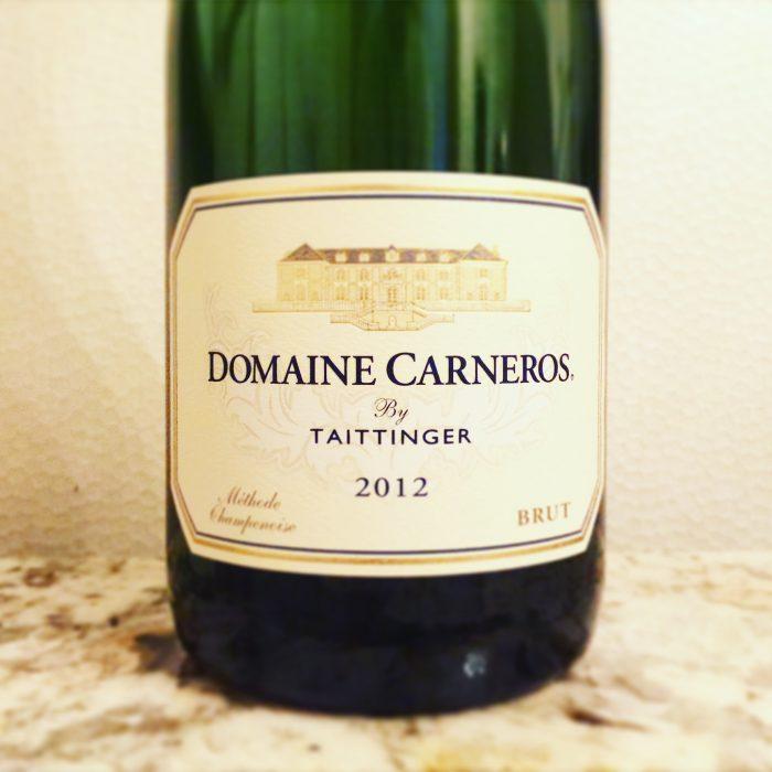 西海岸の名門スパークリングワイン Domaine Carneros