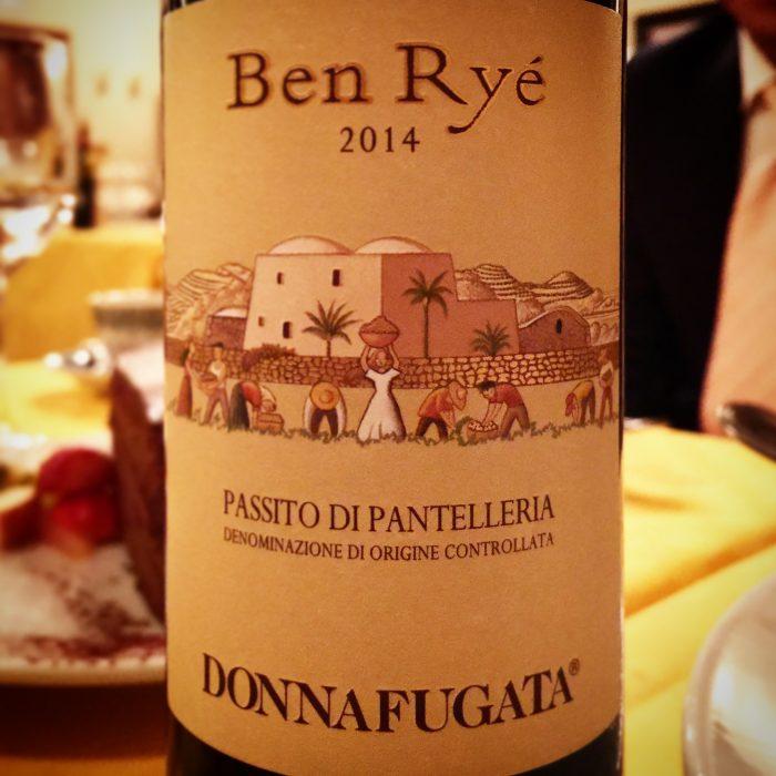 パンテレリア島のドルチェワイン Ben Rye @ LA BISBOCCIA