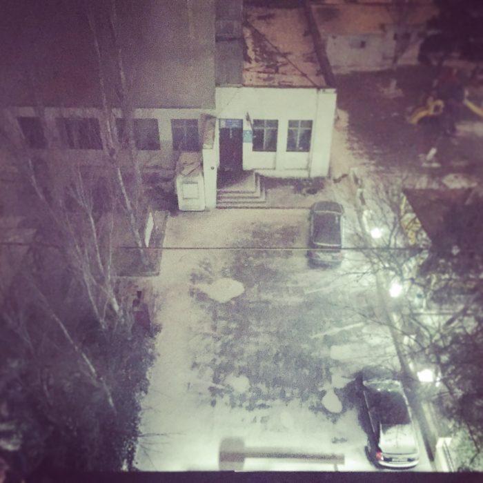 雪のアゼルバイジャンで、初のアゼルバイジャン料理 @ Divan Express Baku