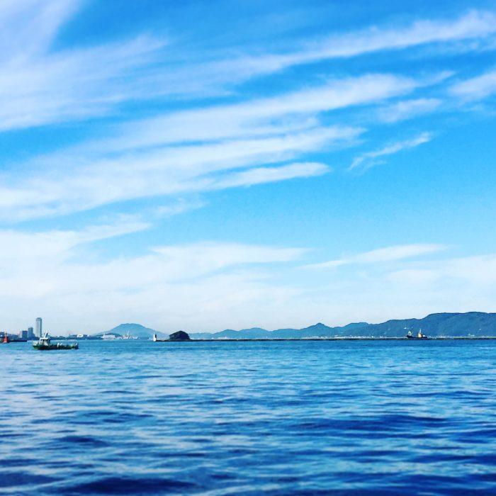 博多の朝 海までのジョギングコース