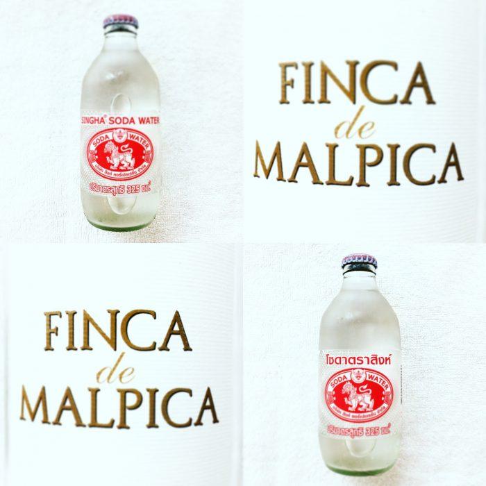 最強炭酸 Singha Soda Waterで作るSpritzer