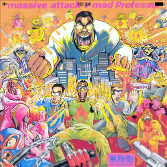Massive Attack vs Mad Professor / Radiation Ruling The Nation (Protection) (Wild Bunch Records 1995)