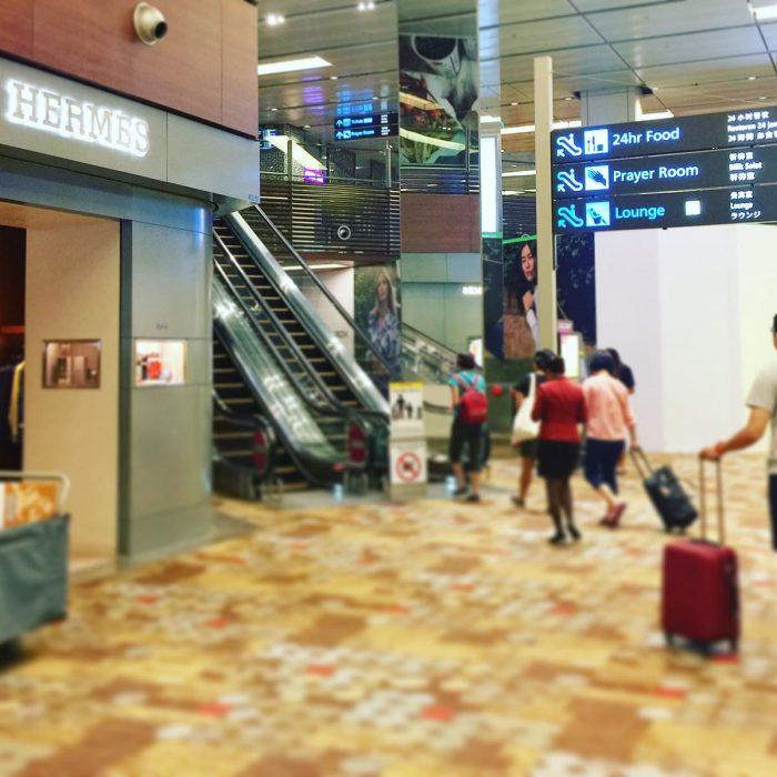 広く快適 Dnata Lounge @ チャンギ国際空港 Terminal1