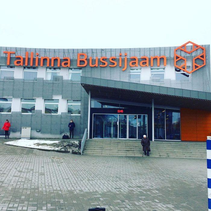 バルト三国をバスで移動する方法 Lux Express @ タリン