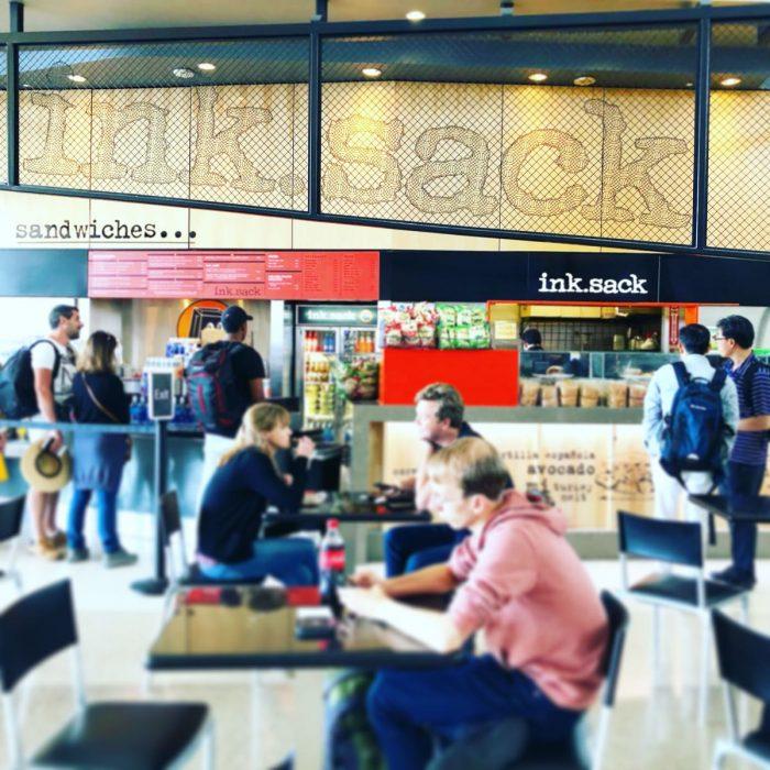 ink.sack @ ロサンゼルス国際空港 トム・ブラッドレー国際線ターミナル