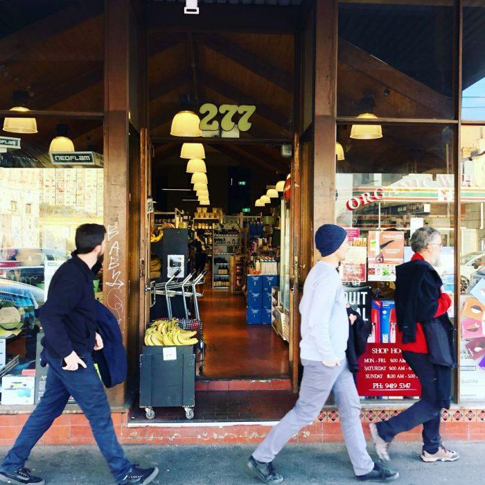 メルボルンの老舗オーガニックスーパー Organic Wholefoods Fitzroy