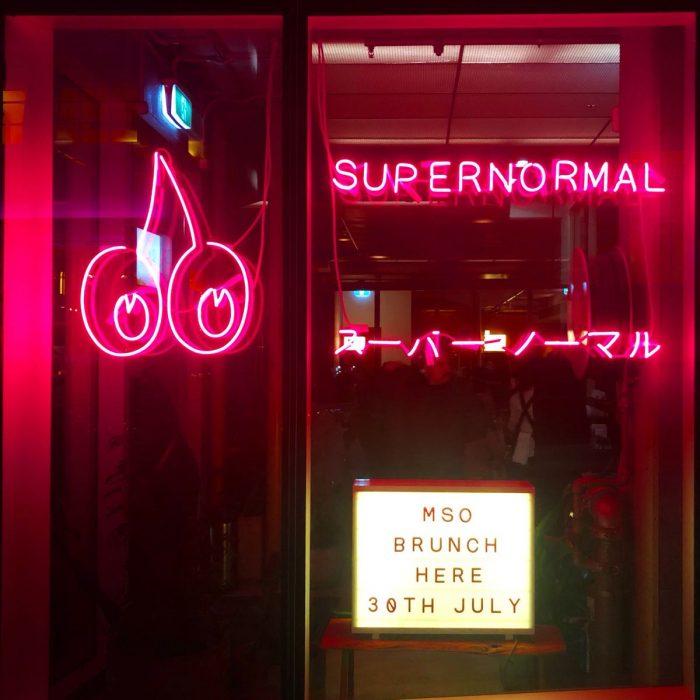 Supernomal Melbourneから見たTokyo