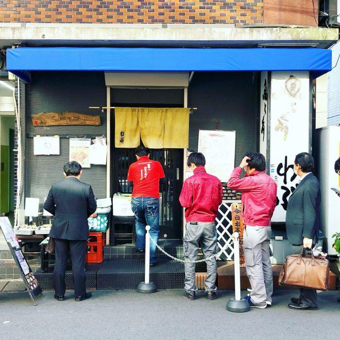 魚と肴 わぶ @ 新宿 の特大牡蠣フライ