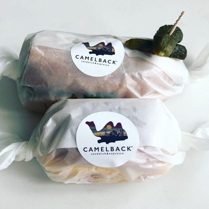 Camelback sandwich & espresso のデリバリー